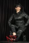 Leder Lederhose High Heels Domina Madame Graf Duisburg Ruhrgebiet